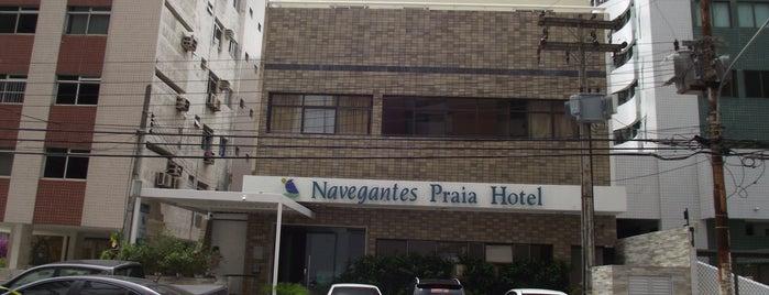 Navegantes Praia Hotel is one of Orte, die Ricielle gefallen.