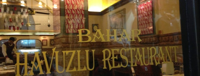 Bahar Restaurant is one of Istanbul Culinary Adventures.