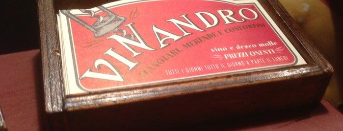 Vinandro is one of I nostri ristoranti preferiti.  Approvati da noi..
