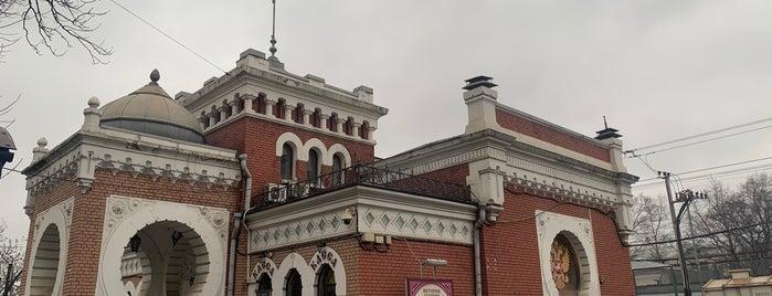 Императорский Железнодорожный Павильон is one of Интересная Москва.