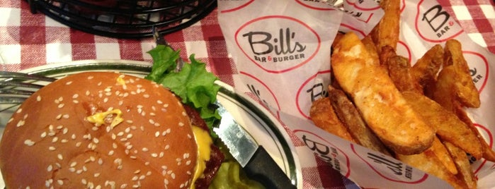 Bill's Bar & Burger is one of NYC.