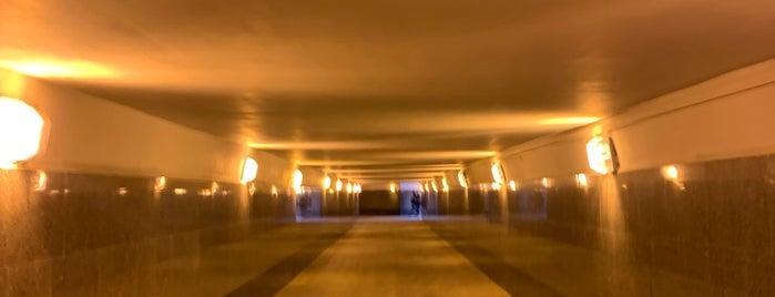 Подземный переход (через Б. Дорогомиловскую) is one of Orte, die Erkan gefallen.