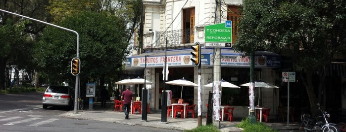 Taquitos Frontera is one of Roma Norte.