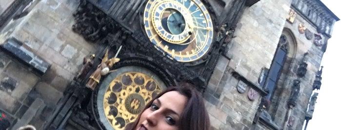 Relógio Astronômico de Praga is one of Prag Gidilecek Yerler.