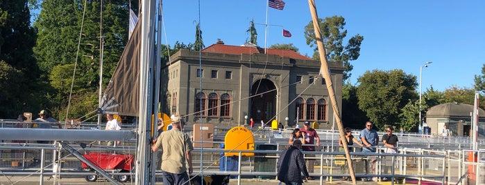 Ballard Locks Visitor Center is one of Seattle.