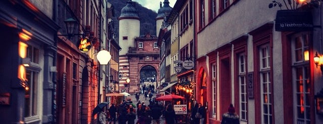Altstadt is one of Heidelberg/ Germany.
