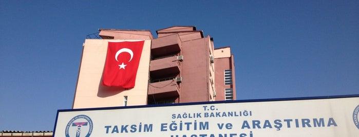Taksim Eğitim ve Araştırma Hastanesi is one of alev.