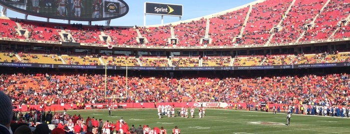 Arrowhead Stadium is one of Sporting Venues....