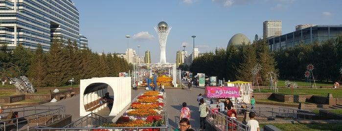 Нұржол желек жолы / Бульвар Нуржол / Nurzhol Boulevard is one of Nur-Sultan.