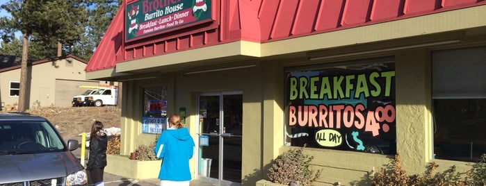Brothers Burrito House is one of tahoe to do.