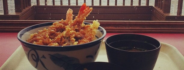 天丼てんや is one of Lieux qui ont plu à 西院.