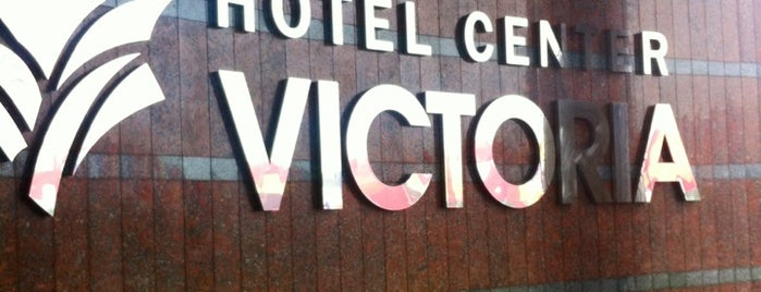 Victoria Hotel Center is one of Tempat yang Disukai Vincent.
