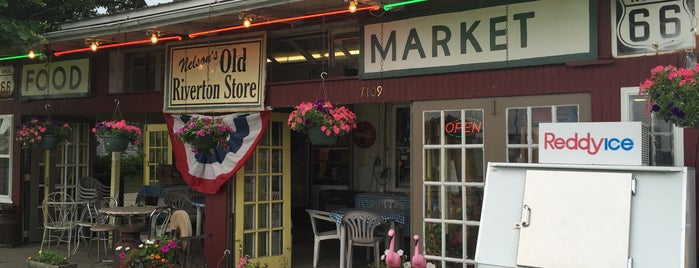 Nelson's Old Riverton Store is one of Route 66 Roadtrip.