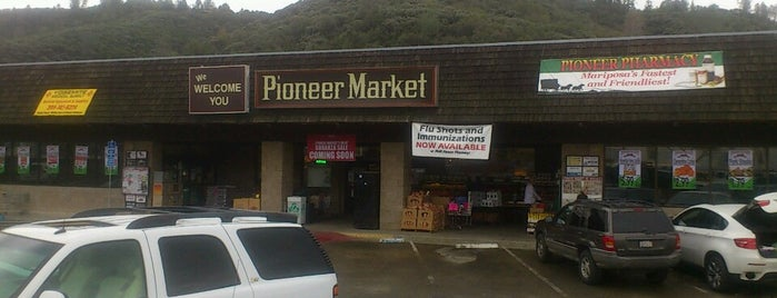 Pioneer Market is one of Yosemite.