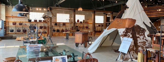 Will Leather Goods  'Legacy Store' is one of Detroit.