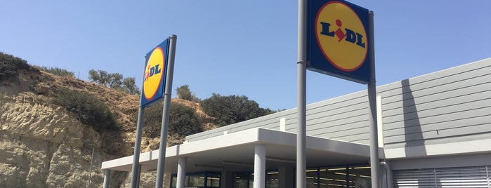 Lidl is one of Locais curtidos por Vlad.