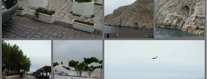 Kamari Beach is one of When in Greece.