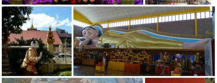 Wat Chayamangkalaram Thai Buddhist Temple (泰佛寺) is one of When in Penang.