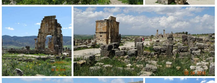 Volubilis is one of When in Morocco.