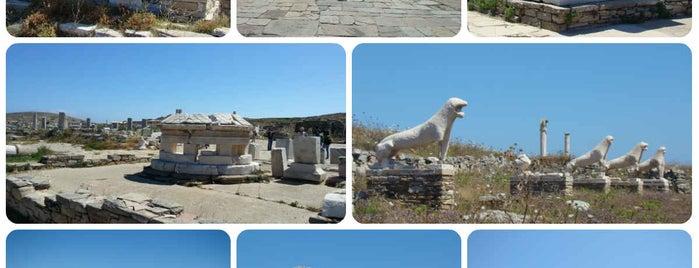 Delos is one of When in Greece.