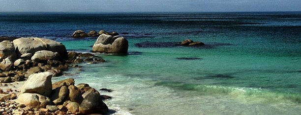 Boulders Beach is one of Cape Town.