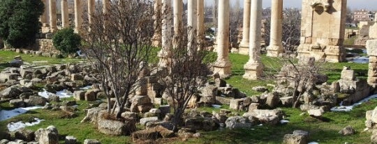 Baalbeck Ruins is one of Dmitry 님이 좋아한 장소.