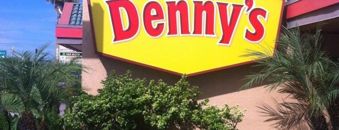 Denny's is one of Jason : понравившиеся места.