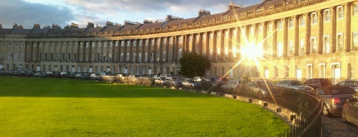 The Royal Crescent is one of England 1991.