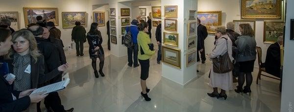 Музей українського живопису is one of Lugares favoritos de Andrey.
