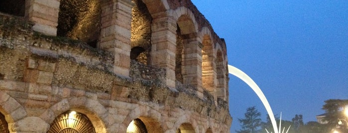 Arena di Verona is one of Locais curtidos por Davide.