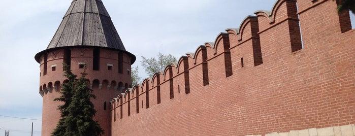 Тульский кремль is one of Тула-Алексин.