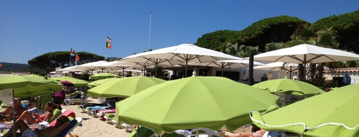 Tabou Beach Club is one of Sant Tropez🇫🇷.
