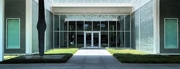 The Menil Collection is one of Houston, TX.