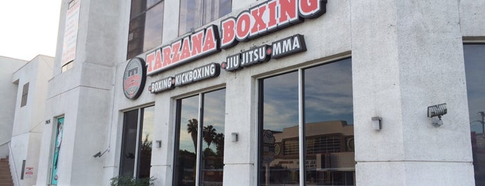 Tarzana Boxing and Fitness is one of Orte, die Tyrone gefallen.