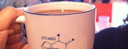 Atomix is one of Coffee Shops.