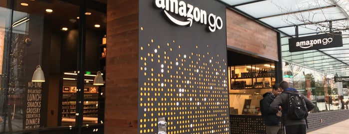 Amazon Go is one of Amazon Campus (SLU) Lunch Spots.