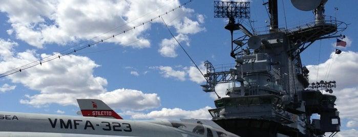 Intrepid Sea, Air & Space Museum is one of Manhattan Favorites.