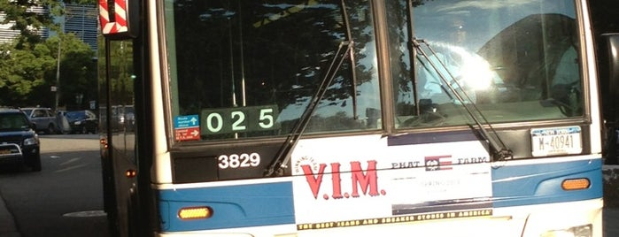 MTA Bus - Harrison St & Hudson St (M20) is one of Locais curtidos por Diana.
