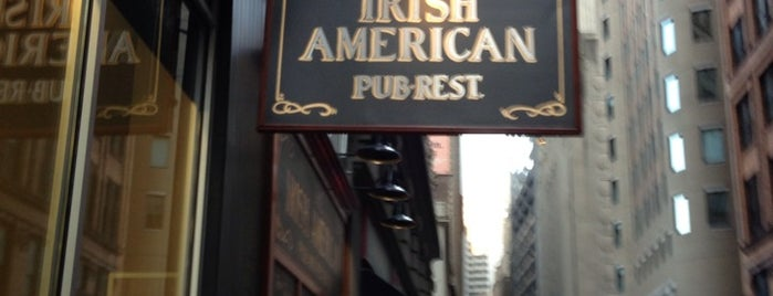 The Irish American Pub is one of NYC.