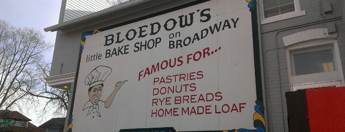Bloedow's is one of Gotta Try Donuts!.