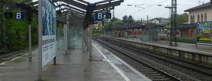 Bahnhof Starnberg is one of München.