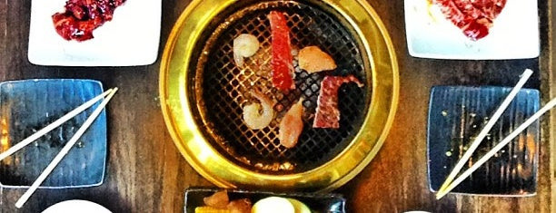 Gyu-Kaku Japanese BBQ is one of date night.
