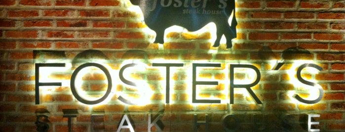 FOSTER'S Steak House is one of Gdl.