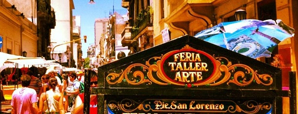 Feria de San Pedro Telmo is one of BsAs.