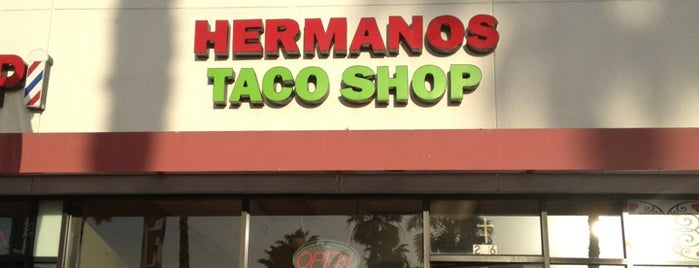 Hermanos Tacos is one of CALIFORNIA.