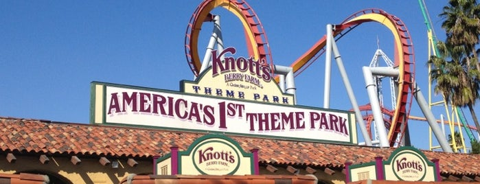 Knott's Berry Farm is one of LA family trip.