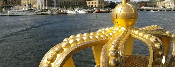 Skeppsholmsbron is one of Stockholm.