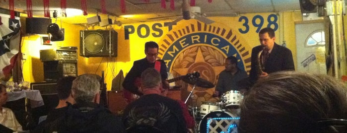 American Legion Post 398 is one of Entertainment in Greater Harlem.
