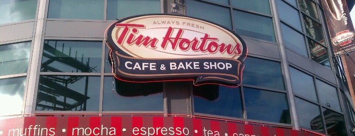 Tim Hortons is one of Been To.