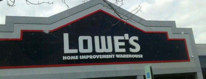 Lowe's Home Improvement is one of Athens GA.